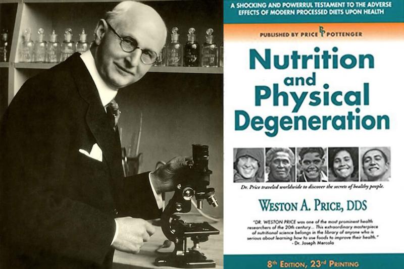 Dr. Weston Price: El Newton de la nutrición